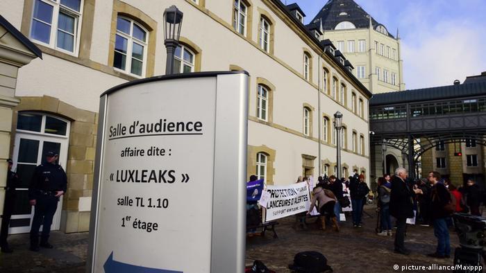 Luxemburg Prozessbeginn Luxleaks
