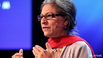 Asma Jahangir eine renommierte Menschenrechtsaktivistin (privat)