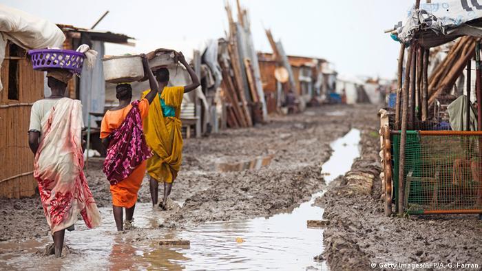Südsudan Schutzzone Malakal (Getty Images/AFP/A.-G. Farran)