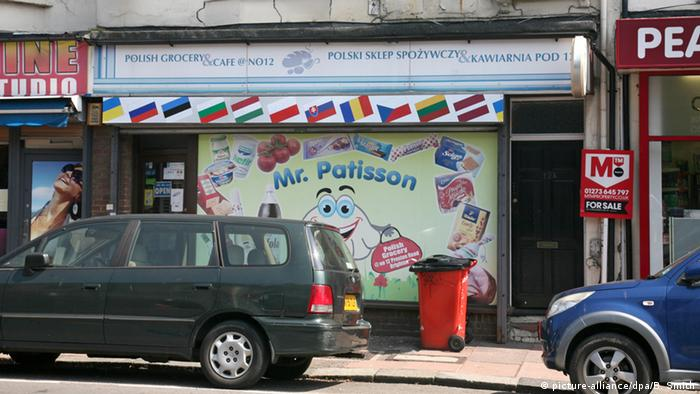 A polish shop in Brighton