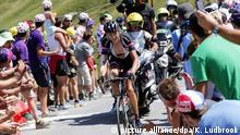 Begeisterte die Franzosen bei seinem Debüt im Vorjahr: Barguil kämpfte sich trotz Verletzung auf Rang 14