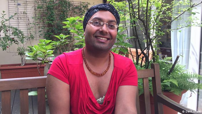Pakistani transgender Ali Raza alias Alia Köln Deutschland