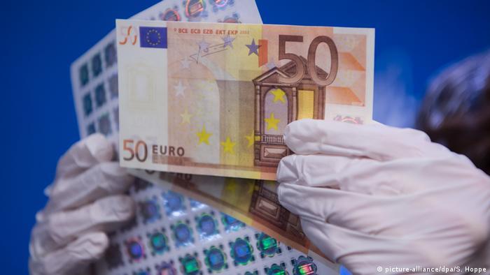 4 апреля 2017 года в оборот будет введена новая банкнота в 50 евро.