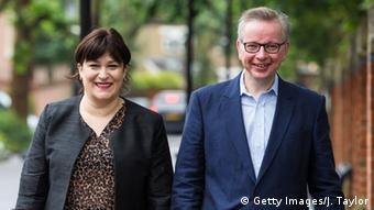 Großbritannien Michael Gove mit Ehefrau Sarah Vine