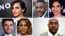***Darf nur un Zusammenhang mit einer Bericherstattung über alle sechs Personen im Bild benutzt werden*** Emma Watson, Idris Elba, America Ferrera, Oscar Isaac, Vivica A. Fox, Morris Chestnut