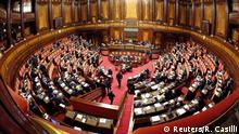 A general view shows the Italian Senate in Rome, Italy February 25, 2016. +++ (C) Reuters/R. Casilli