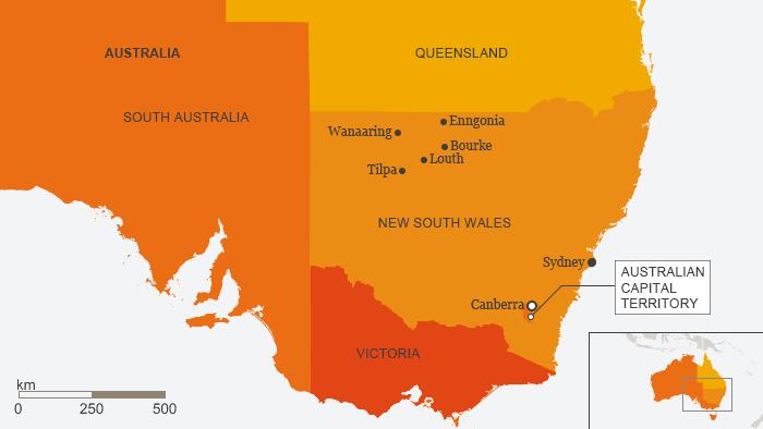 Karte Australien Englisch.Collecting Votes In A Remote Australian Village All Media