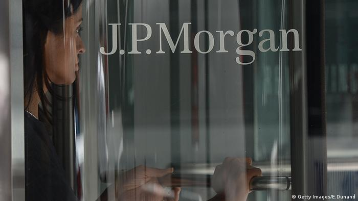 JP Morgan Bank New York USA (Getty Images/E.Dunand)