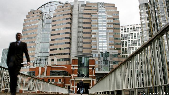 JP Morgan Bank London England