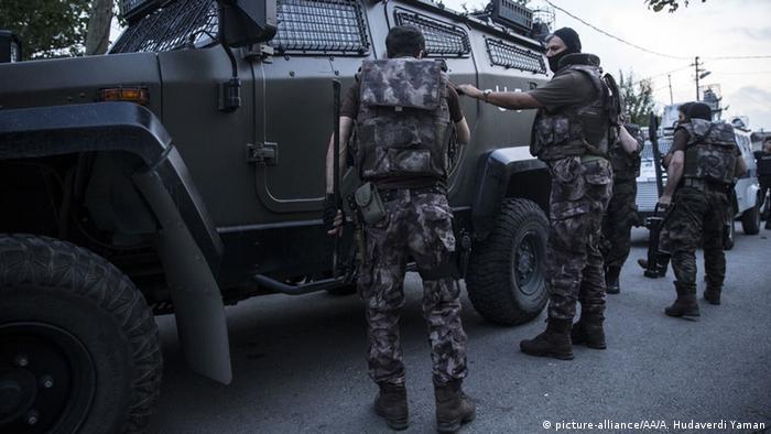 Бойцы турецкого спецназа