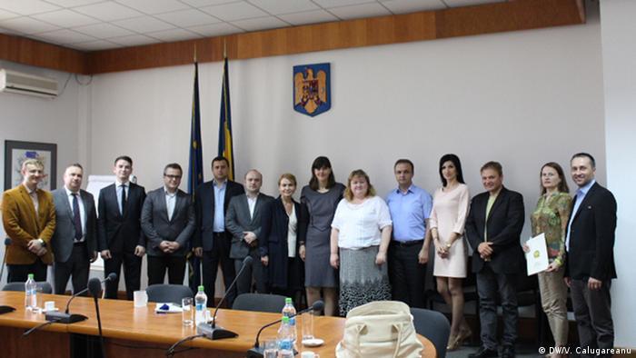 Laura Codruţa Kövesi la întâlnirea cu delegația din Republica Moldova