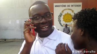 Angola befreite Aktivisten - José Gomes Hata