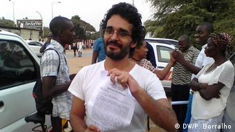 Angola befreite Aktivisten - Luaty Beirão