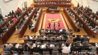 Mosambik Maputo Parlament / Plenary session in Mozambik's Parliament (Leonel Matias)