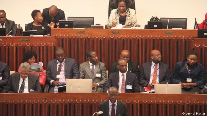 Membros do Governo no Parlamento em 2016