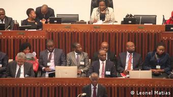 Mosambik Maputo Parlament / Plenary session in Mozambik's Parliament