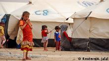 Nordirak Kinder Flüchtlinge Flüchtlingslager