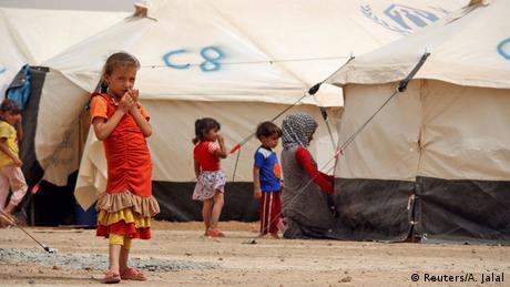 Nordirak Kinder Flüchtlinge Flüchtlingslager (Reuters/A. Jalal)