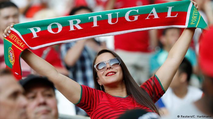 UEFA EURO 2016 Viertelfinale Polen vs Portugal / Fans aus Portugal (Reuters/C. Hartmann)