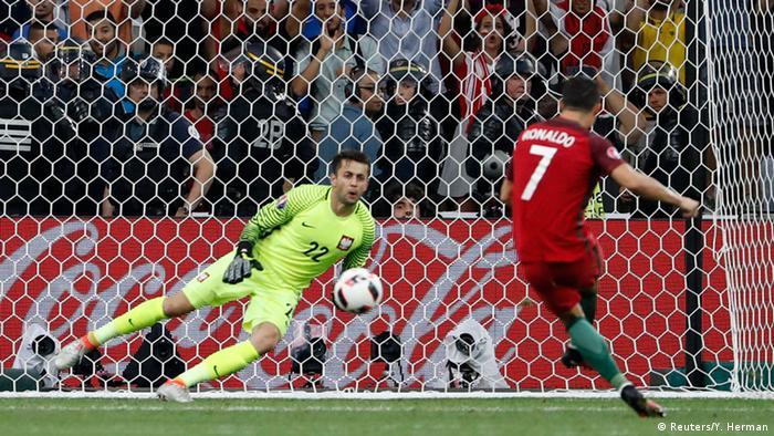 UEFA EURO 2016 Viertelfinale Polen vs Portugal Ronaldo Tor