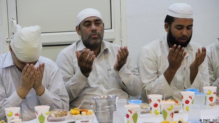 Indien Ramadan-Feier in Alt Delhi Gebet