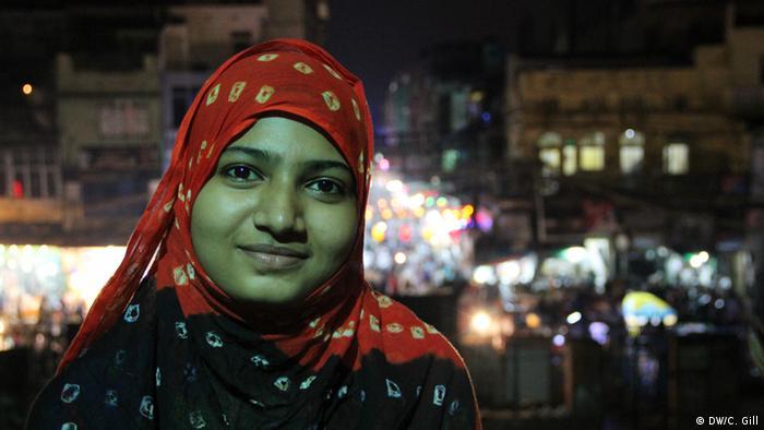 Indien Ramadan-Feier in Alt Delhi Anusha