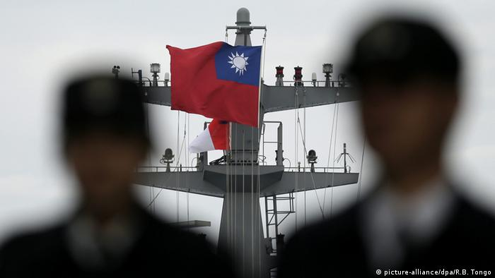 Taiwan Marine in Kaohsiung (picture-alliance/dpa/R.B. Tongo)