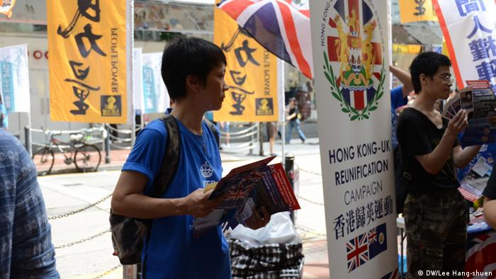 China Proteste in Hongkong
