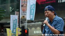 China Proteste in Hongkong Lee Cheuk-yan