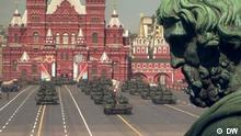 Moskau, Roter Platz, 9 Mai