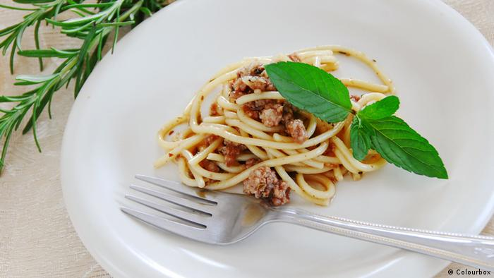 Spaghetti Bolognese (Colourbox)