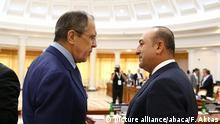 Russland Sotschi Treffen Außenminster Lawrow und Cavusoglu
