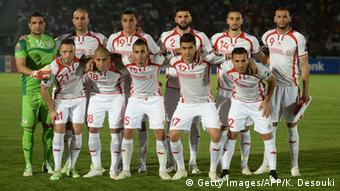 Tunesien Mannschaft beim Duell gegen Kapverden Afrika Cup 2015 (Getty Images/AFP/K. Desouki)