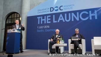 Владимир Якунин на презентации Диалога цивилизаций 1 июля 2016 года
