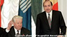 Russland Jelzin und Beresowski