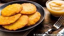 Gerichte mit Kartoffeln Kartoffelpuffer