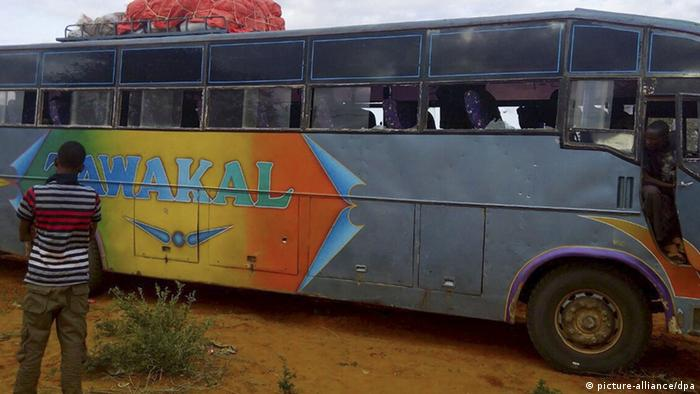 Several people were killed when gunmen opened fire on two buses in northern Kenya