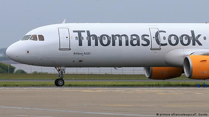 Pauschaltourismus Thomas Cook Flugzeug