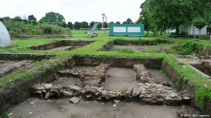 Deutschland Archäologischer Park in Xanten Grabungo: DW/F. Schlagwein