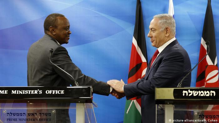 Israel Besuch Uhuru Kenyatta bei Premierminister Netanjahu