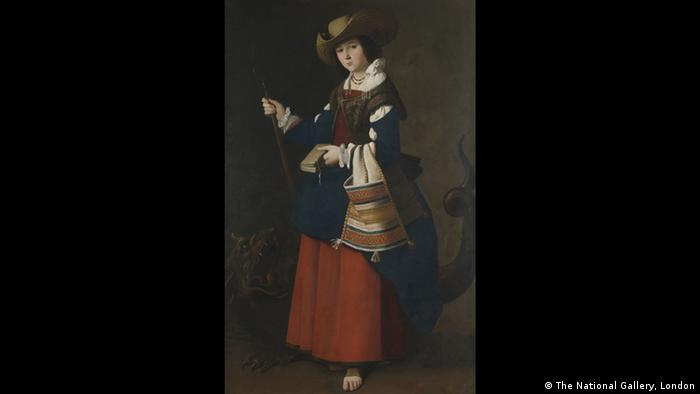Francisco de Zubaran: Heilige Margareta von Antiochien (Foto: The National Gallery, London)