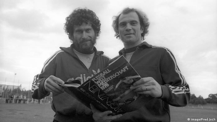 Paul Breitner and Uli Hoeneß