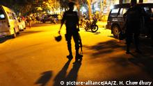 Bangladeshi security forces take security measures after armed attack held to a restaurant at a diplomatic area in Dhaka, Bangladesh on July 1, 2016. Zakir Hossain Chowdhury / Anadolu Agency