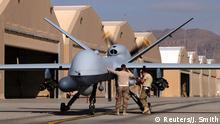 """Kampfbereit: US-Drohne des Modells MQ-9 Reaper, zu deutsch: """"Sensenmann"""" (Archivbild)"""