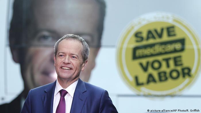 Australien Bundeswahlen Bill Shorten