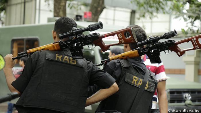 Bangladesch IS-Anschlag in Dhaka - Rapid Action Batallion