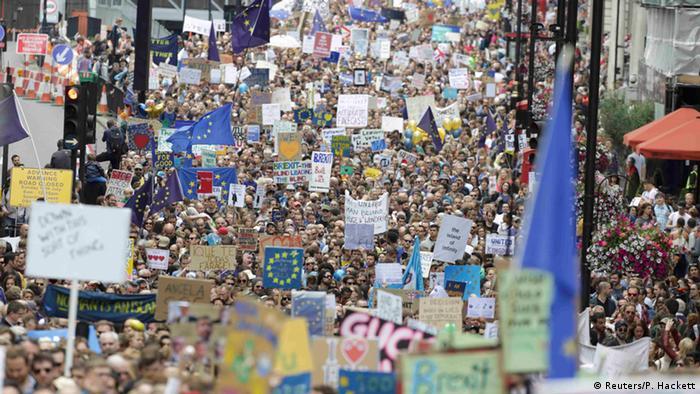 Демонстрація проти Brexit у Лондоні