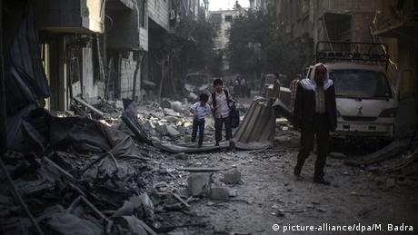 Archivbild Syrien Krieg