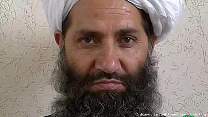 Afghanistan Mullah Haibatullah Akhundzada (picture alliance/AP Photo/Afghan Islamic Press)