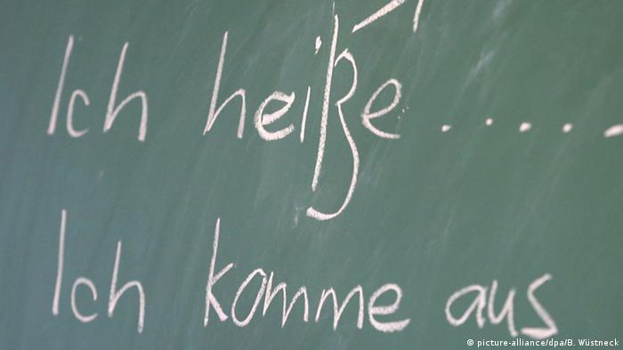 Deutsch lernen Tafel